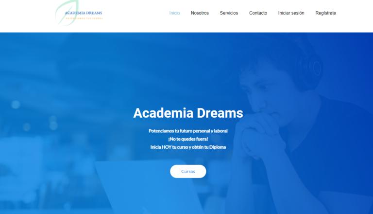 portada academia dreams